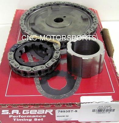 GM LS2 6.0L 2007-2010, LS3 6.2L 2008-2010 SA Gear Single Billet Timing Chain Set