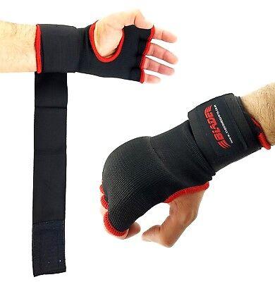Hand Wraps Gel Inner Gloves Padded Best Boxing MMA Muay Thai Kickboxing (Best Boxing Gel Hand Wraps)