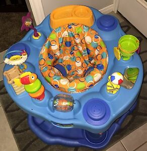Exersaucer, bassinet, bouncy chair, crib bedding, car seat cover