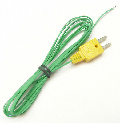 Long 100 Inch K-type Thermocouple Wire For Digital Thermometer Temperature Tc-01