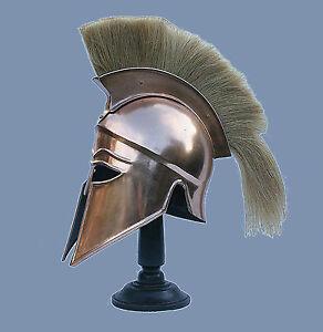 Korinther Helm Leonidas Rüstung Larp Ritterhelm Troja Reenactment  sca  R155i