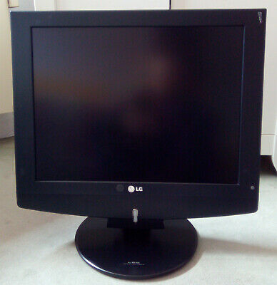 "LG LCD TV 20LC1RB TELEVISORE MONITOR COMPUTER PC 4:3 20"" 2006"