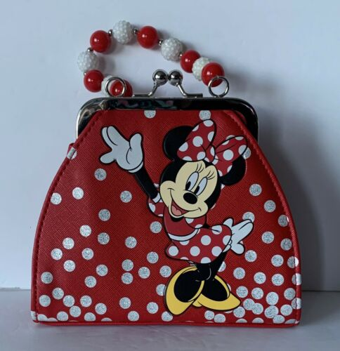 🏰Disney Red Minnie Mouse Kids 👧🏻 Purse ~ NWOT