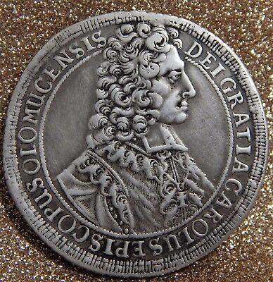 RDR - Olmütz Taler 1707-Kremsier, Karl III. von Lothringen (1695-1711)