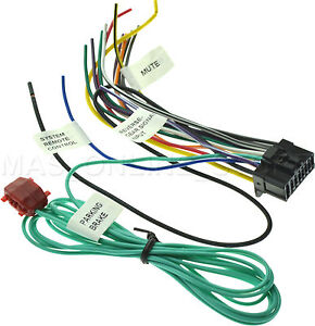pioneer avh x1500dvd avhx1500dvd wire harness pay today ships today ebay