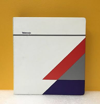 Tektronix 070-9970-00 Csa 803c Signal Analyzer 11801c Oscilloscope Prog Manual