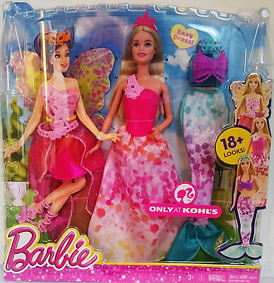 Barbie Doll Fairytale Dress Up Mix & Match 18+ Different Looks