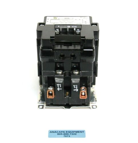 Square D 8502 SEO1 S Full Voltage AC Magnetic Contactor Type S + Auxiliary (7073