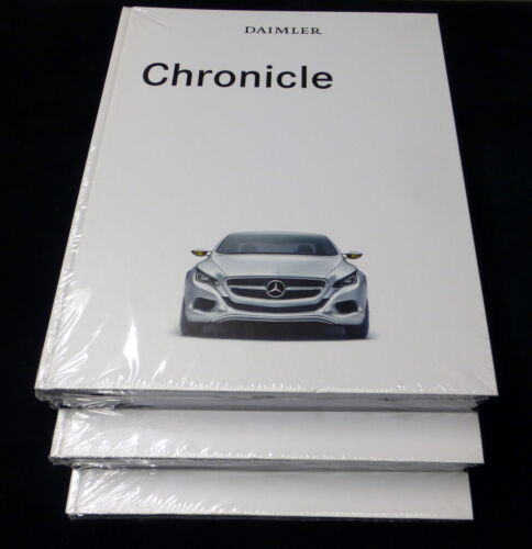 Daimler Chronicle hardcover book NEW in plastic. Mercedes-Benz history. Rare
