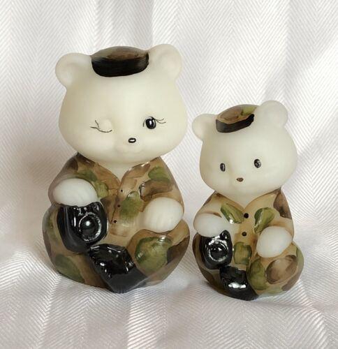 Fenton Memorial Day Bear Set, Only 150 ...