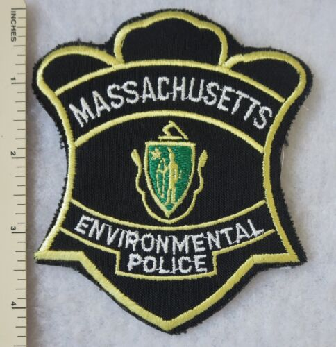 MASSACHUSETTS ENVIRONMENTAL POLICE PATCH Vintage ORIGINAL