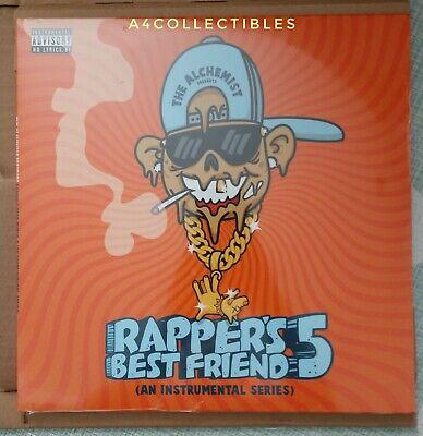 The Alchemist Rapper's Best Friend Part 5 LE #/200 Clear Vinyl RARE Covert