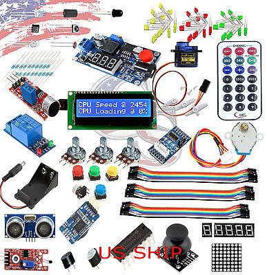 Ultimate UNO R3 Starter Kit SK#3 for Arduino Stepper Servo Motor Relay RTC