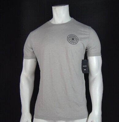 NEW RVCA UFC CREW REG FIT HI- LAYER GRAY MENS S/L SPORT T SHIRT RRVC-58 ()