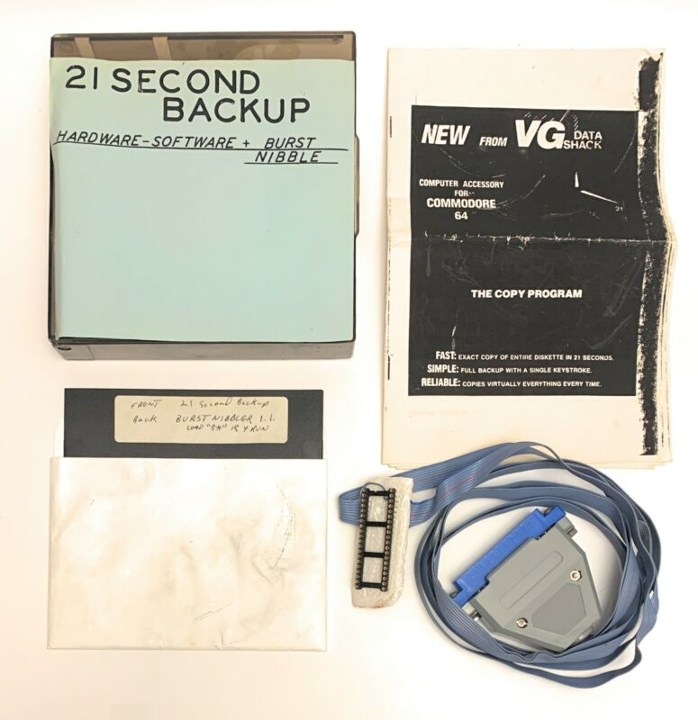 Rare VG Data Shack 21 Second Backup Commodore 64 SX-64 Disk Duplicator Complete!