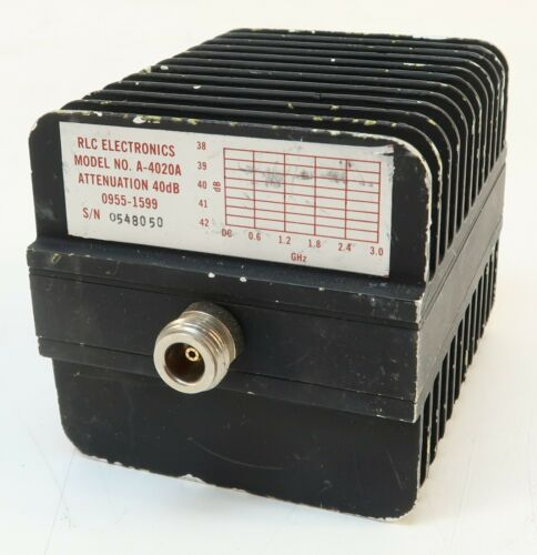 RLC Electronics A-4020A 0955-1599 40dB Attenuator