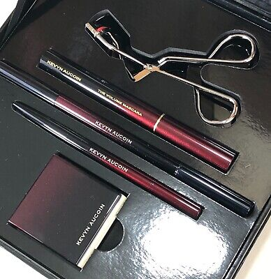 Kevyn Aucoin BEST OF KIT for Eye NEW IN BOX Mascara Brow Pencil Shadow (Best Brow Mascaras)