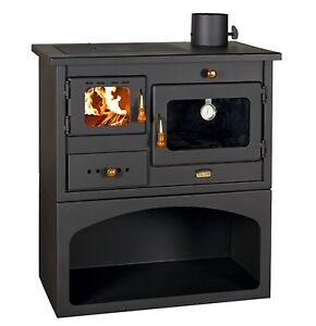 High efficient woodburning wood cooking stove fireplace for Small efficient wood stoves