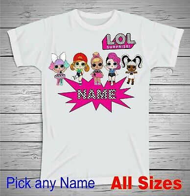 Personalized LOL Dolls Surprise T Shirt Happy Birthday Lol Dolls T Shirt