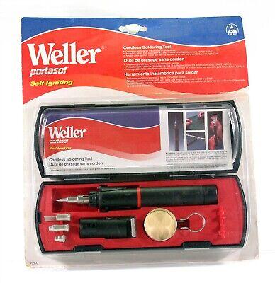 Weller P2kc Portasol Self-igniting Cordless Butane Solder Kit - Brand New