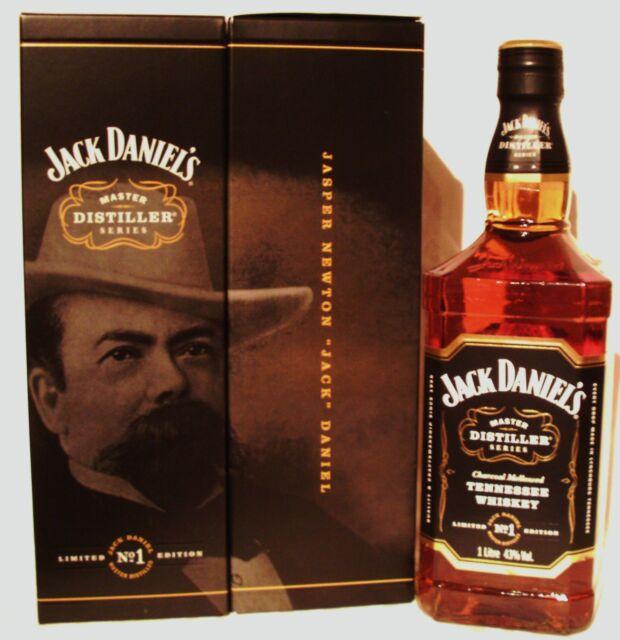 Jack Daniels MASTER DISTILLER Geburtstagsflasche für Jahrgang 1997   Very rare