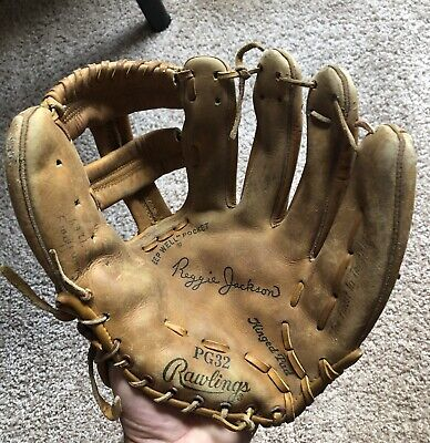 Reggie Jackson Model Rawlings Baseball Glove New York Yankees