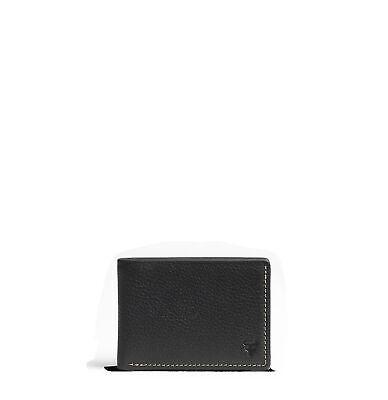 Trask Jackson Super Slim Bifold Leather Wallet Super Slim Leather