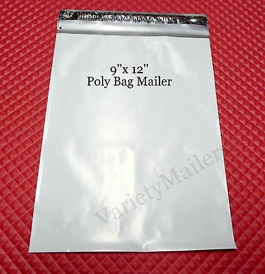 38 Self-sealing 9x 12 Poly Bag Shipping Envelopes Postal Mailers