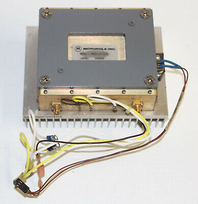 Motorola Pa850-19-100l Amp - Wireless Amplifier Microwave Transmitter Wheatsink