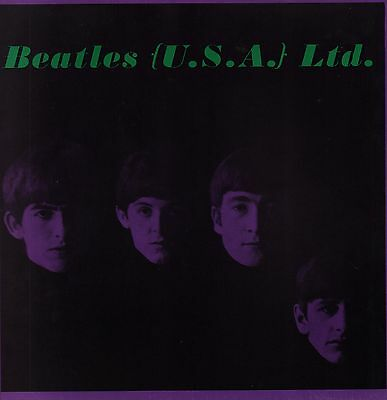 BEATLES LTD. USA 1964 ORIGINAL TOUR PROGRAM BOOK / JOHN LENNON / PAUL McCARTNEY