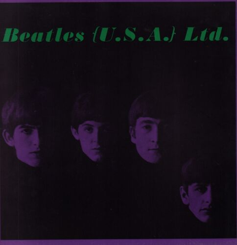 BEATLES LTD. USA 1964 ORIGINAL TOUR PROGRAM BOOK / JOHN LENNON / NEAR MINT