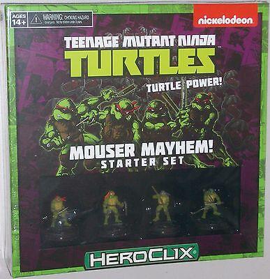 TEENAGE MUTANT NINJA TURTLES: MOUSER MAYHEM! STARTER SET TMNT HeroClix