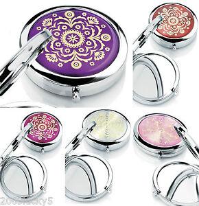 Ladies-Gift-Handbag-Bag-Purse-Travel-Mirror-Compact-Make-Up-Mirror-Girls