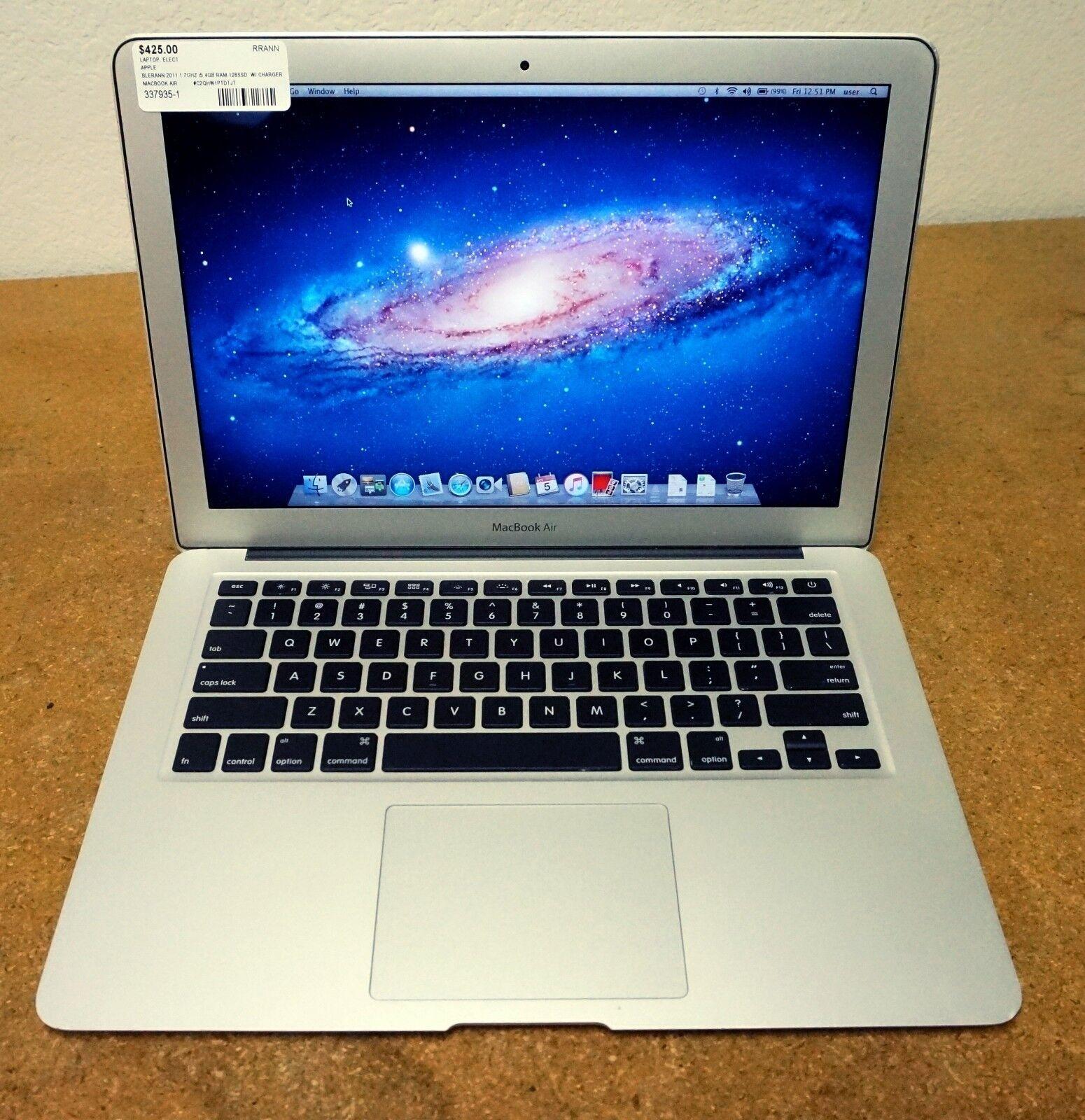 """Apple MacBook Air A1369 13.3"""" Laptop (July, 2011) READ DESCRIPTION"""