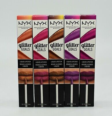 NYX Glitter Goals Liquid Lipstick 3ml Neu Farbwahl 166,33 100ml