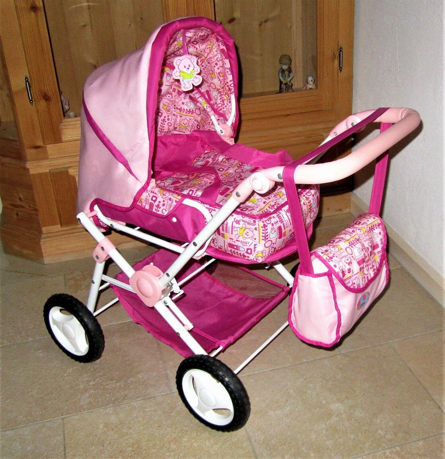 Zapf Creation Baby Born Puppenwagen Kinderwagen inkl. Tasche - TOP