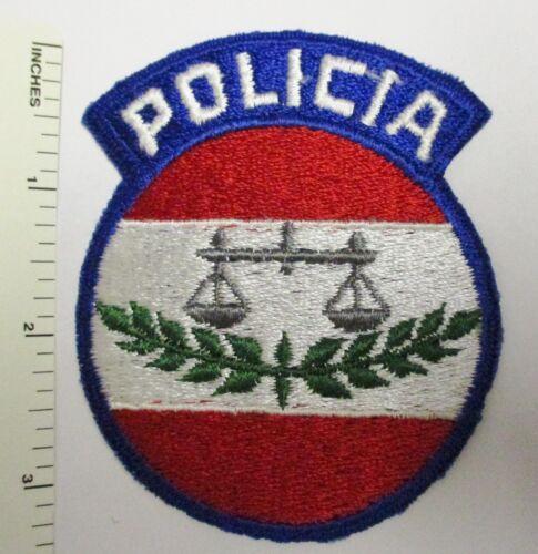 Older Vintage Obsolete NICARAGUA NATIONAL POLICE POLICIA PATCH Original