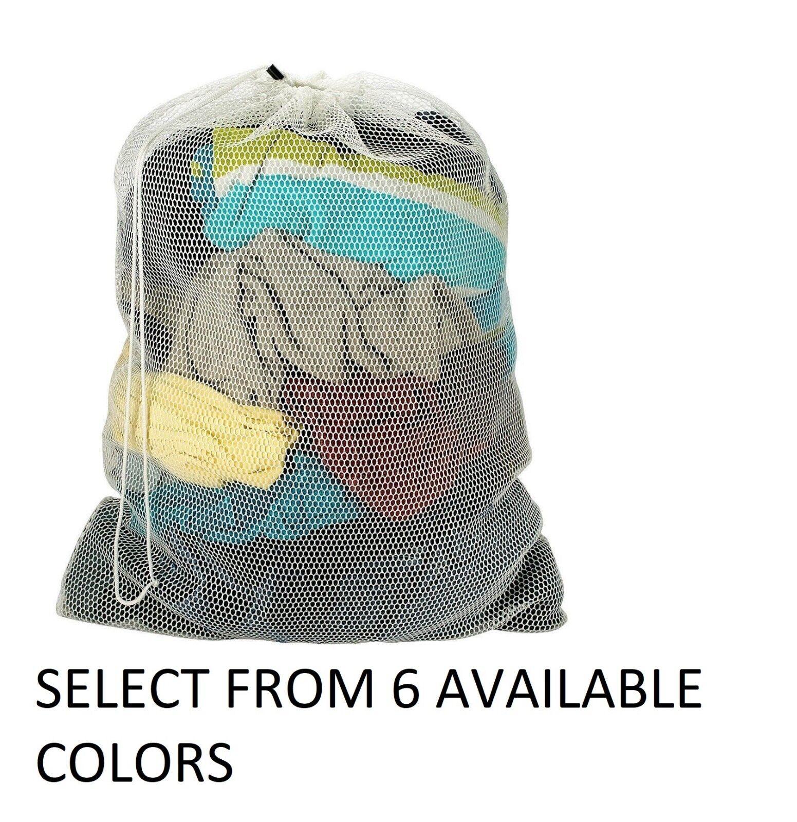 Mesh Laundry Bag- College- Dorm- Laundromat- EXTRA LARGE 24