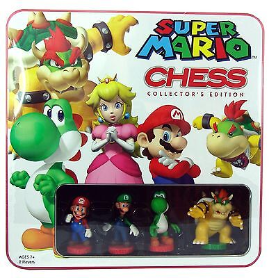 Super Mario Chess Collectors Edition  Brand New With Sealed
