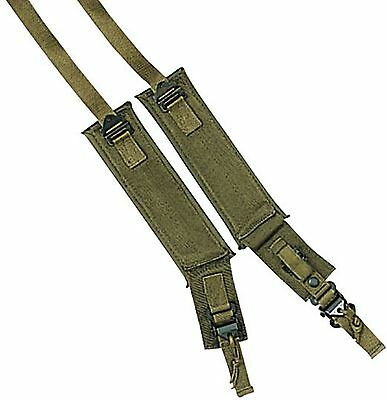 Two Rothco Olive Drab Military ALICE Pack Frame Shoulder Straps Pair