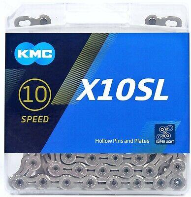 DLC Black PYC SP1001 10 Speed Chain 116L X10SL Compatible