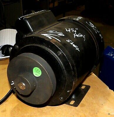 Powermatic 62961261 Hp Jointer Motor Fits 54aa And 54 Hh 115230 With Pulley