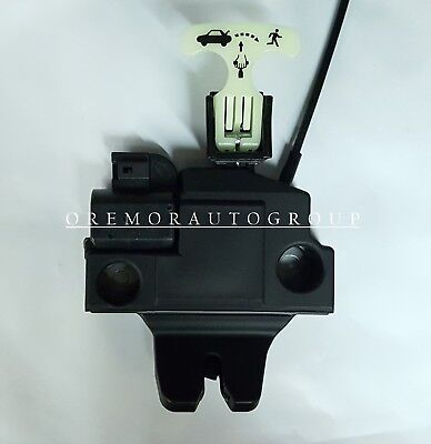 TOYOTA OEM 12-14 Camry Trunk-Lock or Actuator Latch Release 6461006031