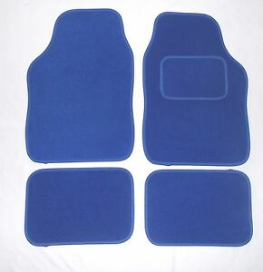 Blue Car Mats For Mg Tf Zr Zs Zt Mgb Ebay