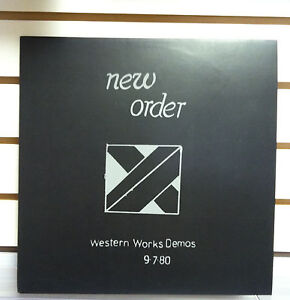 NEW-ORDER-Western-Works-Demos-1980-RARE-VINYL-LP-Joy-Division-Factory-NEW