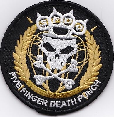 FIVE FINGER DEATH PUNCH - IRON or SEW-ON PATCH