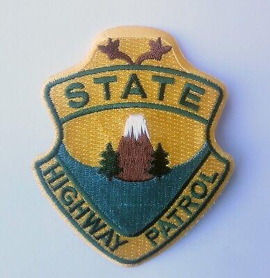 Super Troopers State Highway Patrol - Kostüm Aufnäher Uniform Patch - - Super Troopers Kostüm
