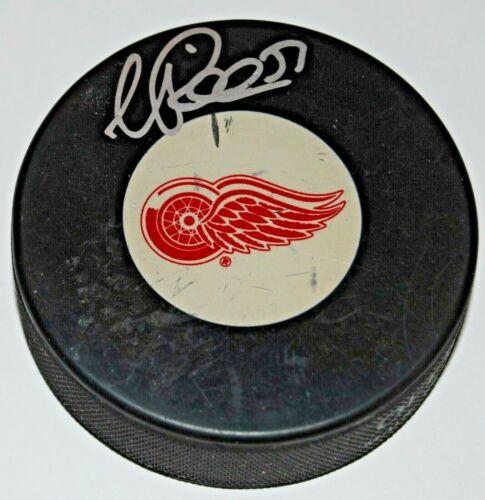 VALTTERI FILPPULA signed (DETROIT RED WINGS) Souvenir hockey puck W/COA