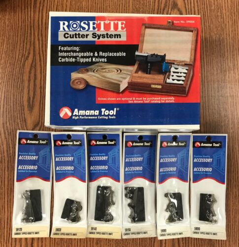 Amana Rosette Cutter Set - Carbide Tipped