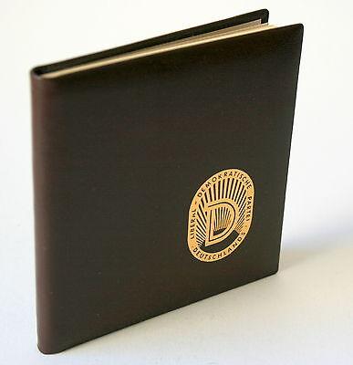 """Minibuch DDR """"Friedensruf aus Weimar"""" Exemplar 464 von 500"""
